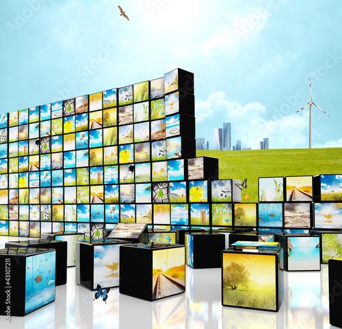 Multimedia straming concept