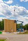 Holzbausystem - Bau eines Firmengebäudes