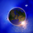 The globe