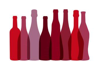 Bouteilles de Vins - Rouge
