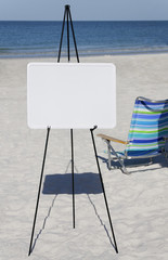 Beach Chair and Whiteboard