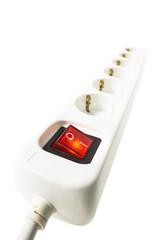 Schalter an Mehrfachsteckdose, EIN - AUS