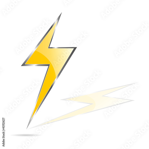 lightning bolt vector illustration