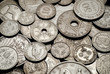 vintage coins background