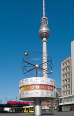 Berlin, Alexanderplatz skyline