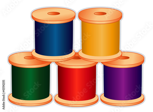 Threads for sewing, tailoring, quilting, craft, needlework, diy