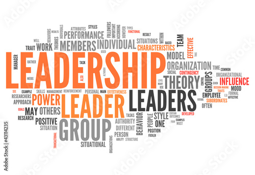"Word Cloud ""Leadership"""