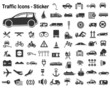 Traffic Sticker Set