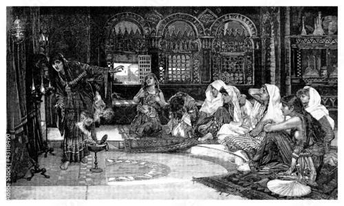 Oriental Harem Women - 1001Nights