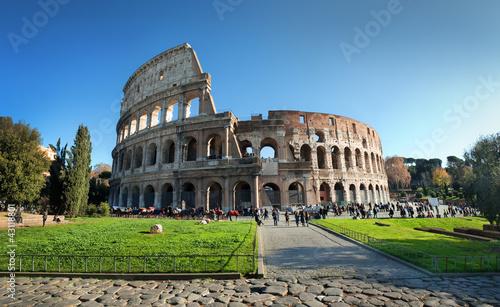 Leinwanddruck Bild Colosseum, Rome