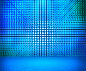 Blue Led Room