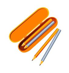 vector icon pencil case