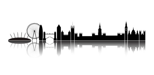 Skyline London city.
