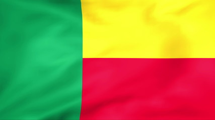 Developing the flag of Benin