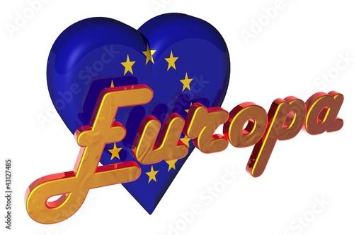 3D Herz - Europa