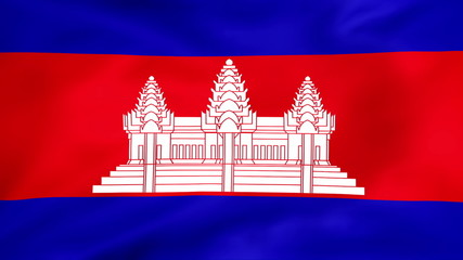 Developing the flag of Cambodia