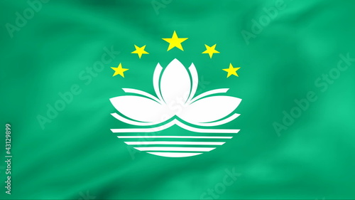 Developing the flag of Macau