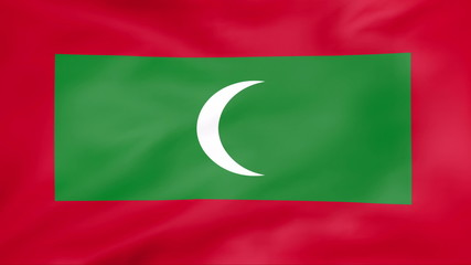 Developing the flag of Maldives