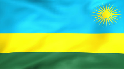 Developing the flag of Rwanda