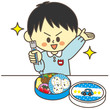 幼稚園児 お弁当