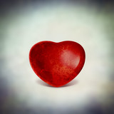 red love heart image