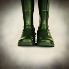 green wellies