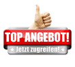 Top Angebot! Button, Icon