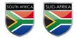 South Africa flag emblem