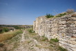 walls of the Cherven fortress ruins, Bulgaria