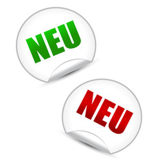 NEU Stickers