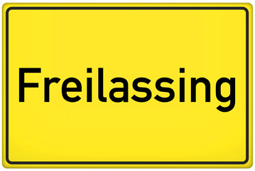 Freilassing