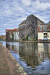 Canal and Old Warehouses in Holland