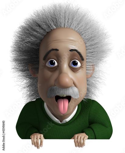 Staande foto Sweet Monsters physicist