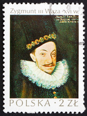 Postage stamp Poland 1974 Sigismund Vasa, King of Poland