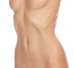 slim female body