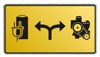 Motor elektrisch oder Verbrennung