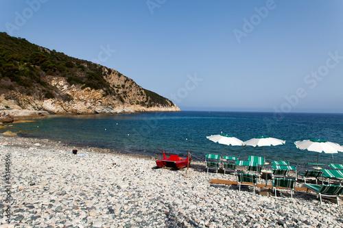 Capo Nord Beach At Marciana Marina,Elba Island