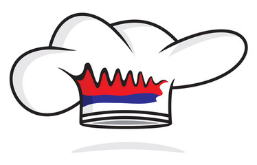 serbian chef hat