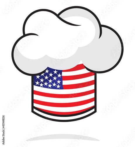 american chef hat