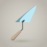 Trowel Spatula Vector Icon