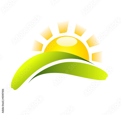 Sun Icon Vector Creative Design