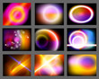 Vector Abstract Background - Space
