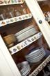 Buffet, vaisselle, vaisselier, meuble, cuisine, antiquité