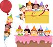 Birthday Party Border