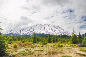 Mount Saint Helens view