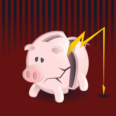 Bankruptcy Piggy Banks