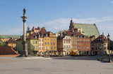 Fototapety Castle Square in Warsaw