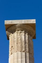 Colonna dell'Acropoli di Lindos