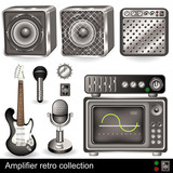 Amplifier retro collection