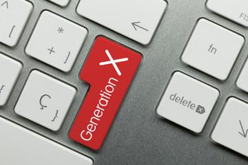 Generation X keyboard